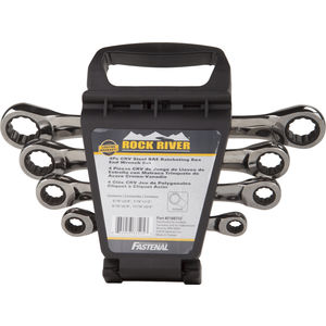 Double Box Ratcheting Wrench Set