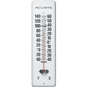 Acu-rite metal thermometer