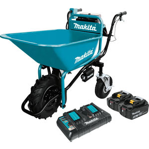 Cordless Power-Assisted Wheelbarrows