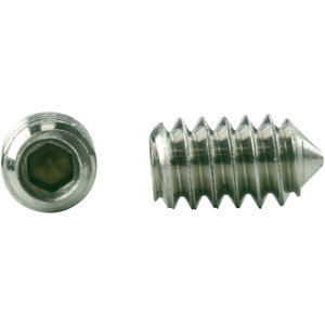 5//16-18 x 5//8 Coarse Thread Socket Set Screw Cup Point Stainless Steel 18-8 Pk 100