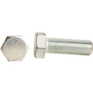 20 pk. 3//4-10 x 1-3//4 Grade 5 Zinc Plated Hex Head Cap Screw