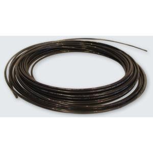 5 feet 3//8 ID Fuel Line Nylon Tube 12mm 15//32 OD for Air Brake System Or Fluid Transfer Black