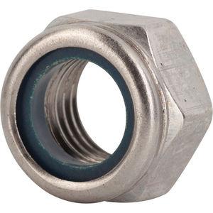 FASTENAL #4-40 18-8 Stainless Steel Nylon Insert Lock Nut  **NEW** Qty.100