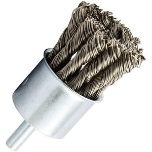 Knotted Wire End Brush