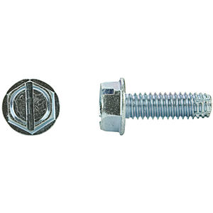 Pack of 10 #10-32 Thread Size Plain Finish Type F 1 Length Pack of 10 18-8 Stainless Steel Thread Cutting Screw Hex Washer Head Small Parts 1116FW188 1 Length