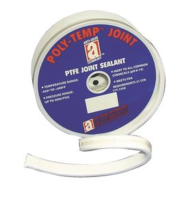 1 2 x 15 39 poly temp joint sealant 100 ptfe gasket. Black Bedroom Furniture Sets. Home Design Ideas