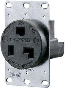 50A 120 / 208V AC - 3 Phase Y 4P 4W 18-50 Black Straight ...