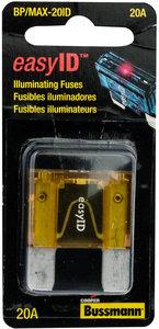 "20amp maxi blade fuse box fastenal bp max 20id 20a 32v yellow easyidâ""¢ plastic maxi indicating blade fuse"