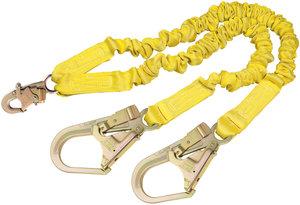 6ft yellow dbi sala polyester rebar snap hook twin leg for Dbi sala colombia