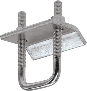 P2785 3 3 8 Quot Electro Galvanized Zinc Steel Beam Clamp