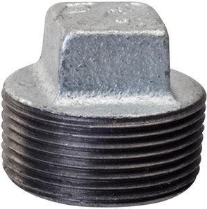 3  M-NPT 150 lb Galvanized Malleable Iron Square Cored Pipe Plug   Fastenal  sc 1 st  Fastenal & 3