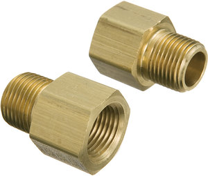 18 Male Npt X 14 Female Npt Brass Straight Adapter Fastenal