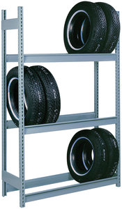 Tire Rack Careers on Tire Racks Dd68148 48 X 18 X 84 Gray Auto Tire Rack Add On 3 Tier